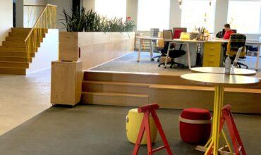 SOL kontori avatud ala Longopac lahendus segaolmejäätmete kogumiseks